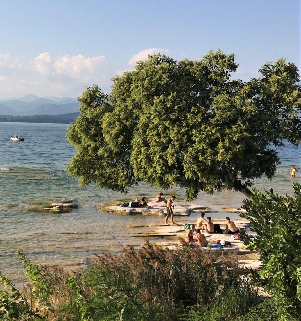 Auftanken mit Hindernissen - Sirmione am Gardasee 4