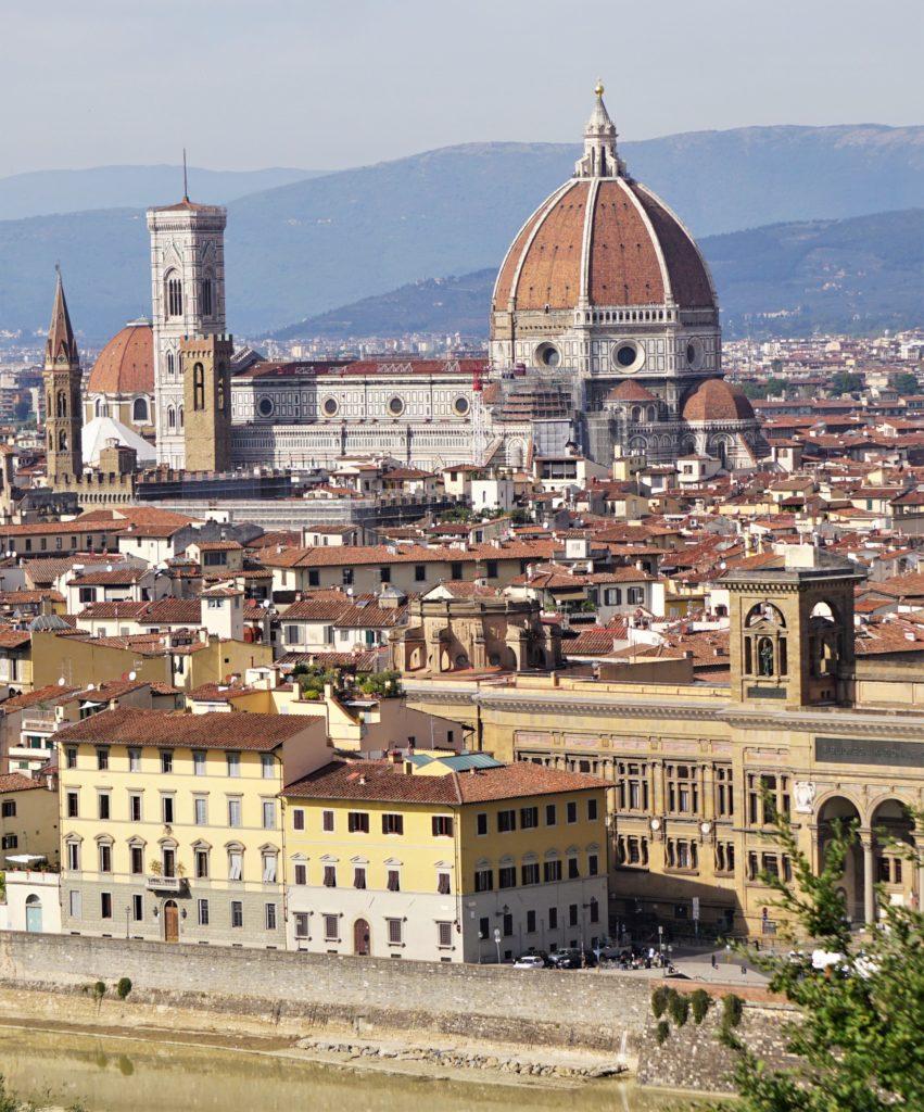 Cappuccino mit Marion und Parkplatzsuche in Florenz 2