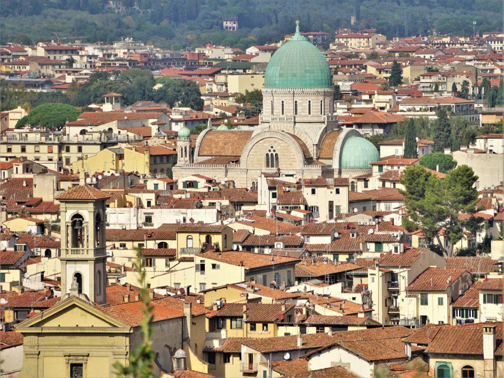 Cappuccino mit Marion und Parkplatzsuche in Florenz 4