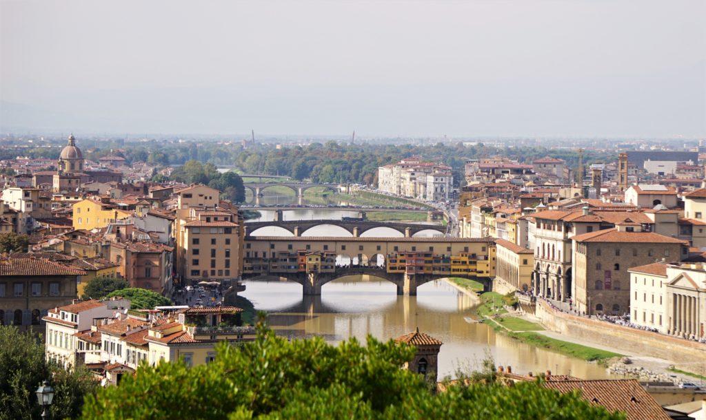 Cappuccino mit Marion und Parkplatzsuche in Florenz 5