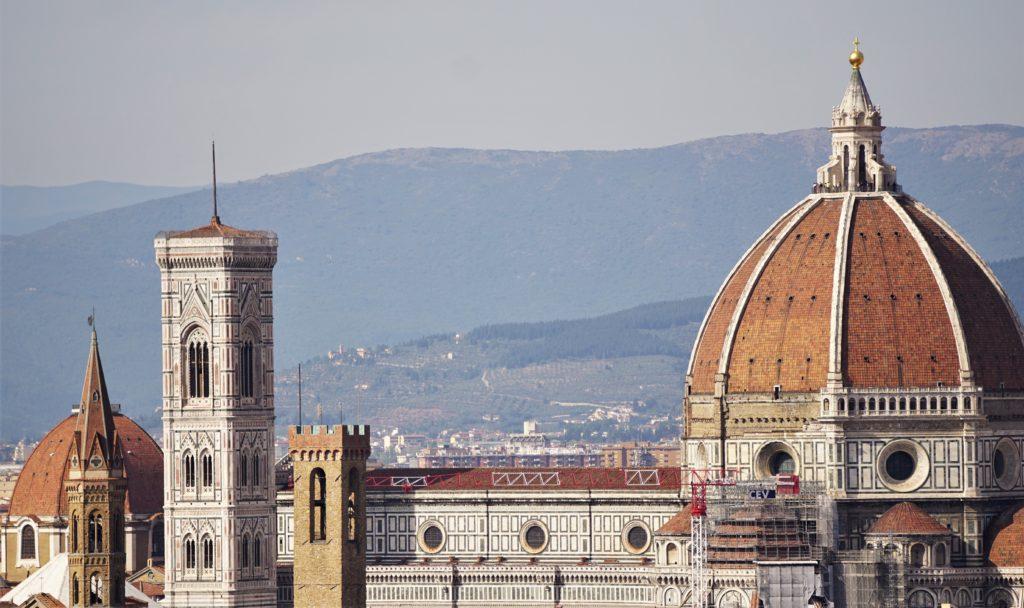 Cappuccino mit Marion und Parkplatzsuche in Florenz 6