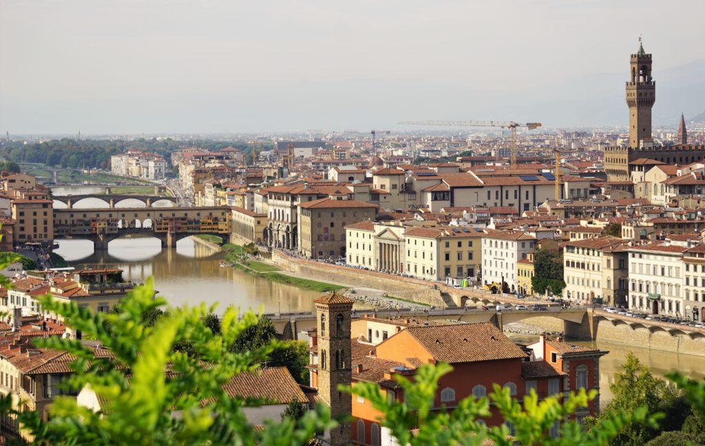 Cappuccino mit Marion und Parkplatzsuche in Florenz 7