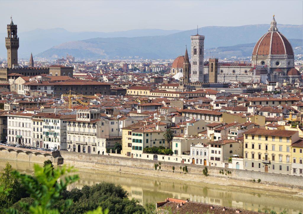 Cappuccino mit Marion und Parkplatzsuche in Florenz 8