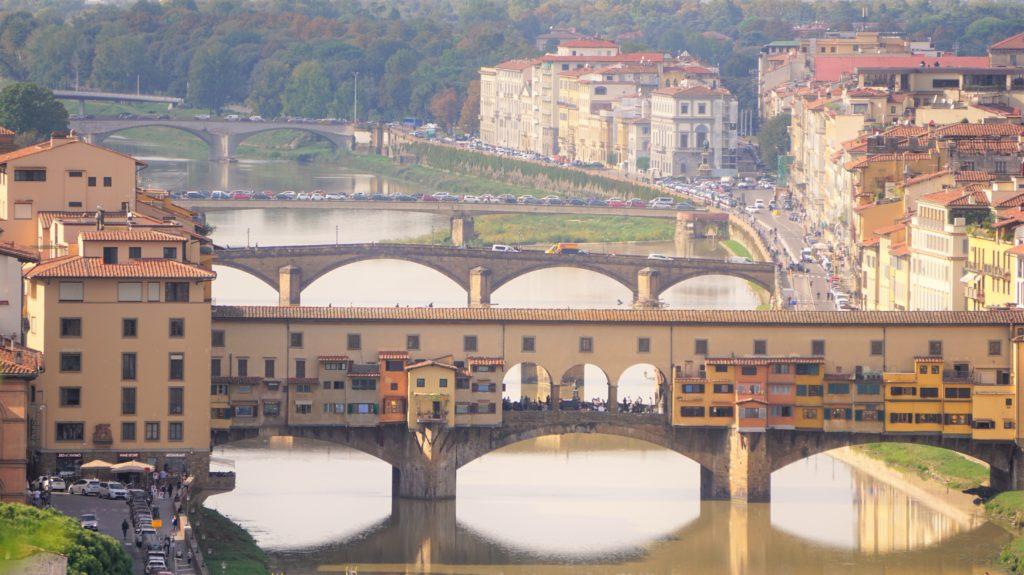Cappuccino mit Marion und Parkplatzsuche in Florenz 3