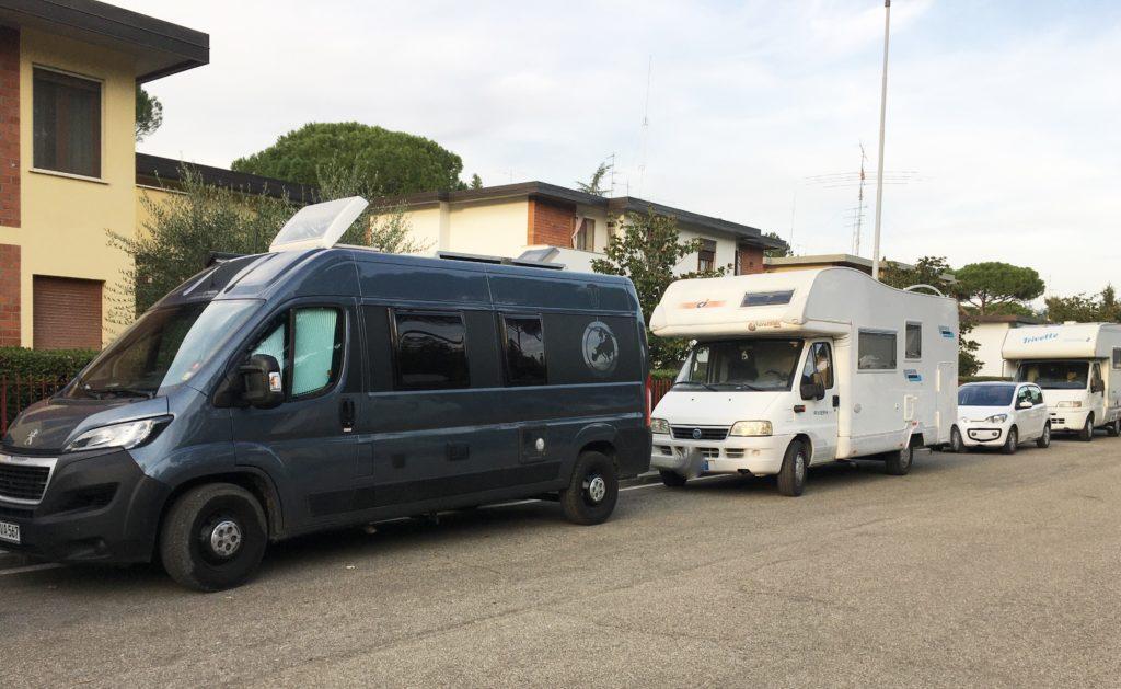 Cappuccino mit Marion und Parkplatzsuche in Florenz 11