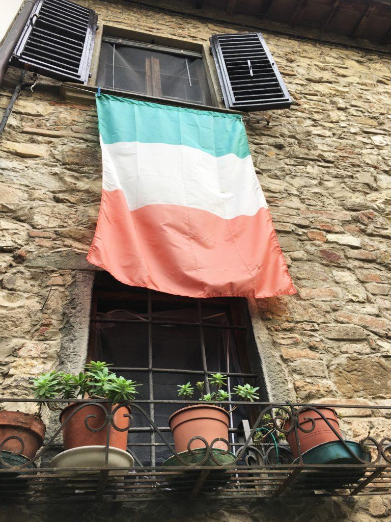 Schock in Greve di Chianti und eine Nacht vor der Festung 12