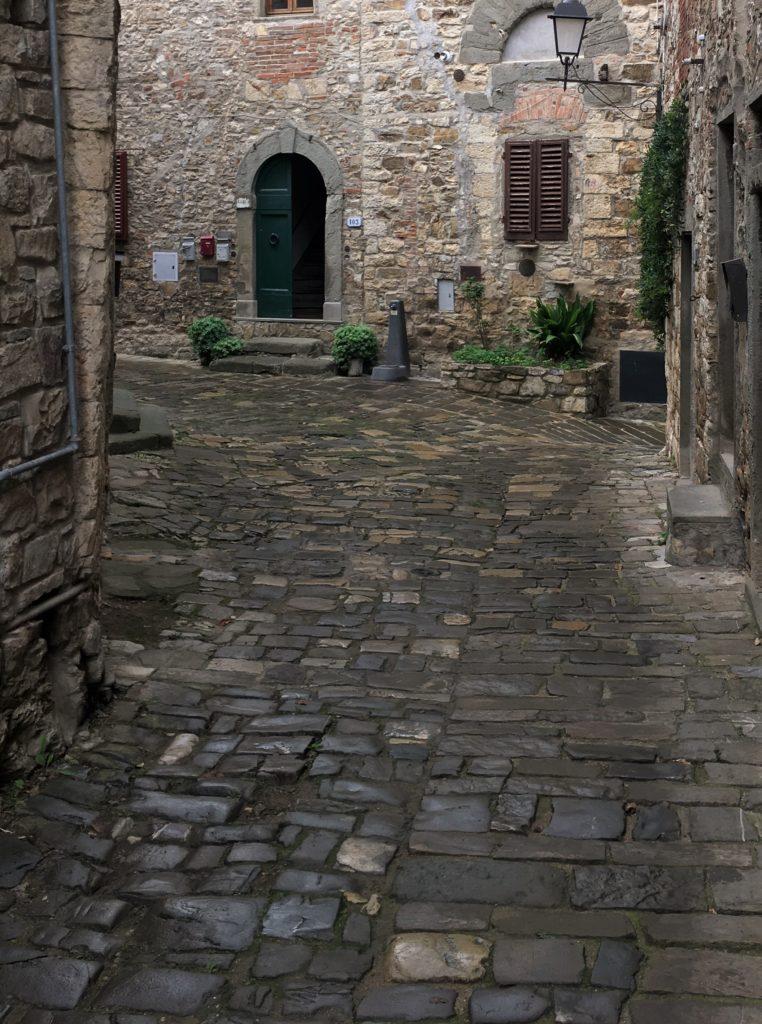 Schock in Greve di Chianti und eine Nacht vor der Festung 14