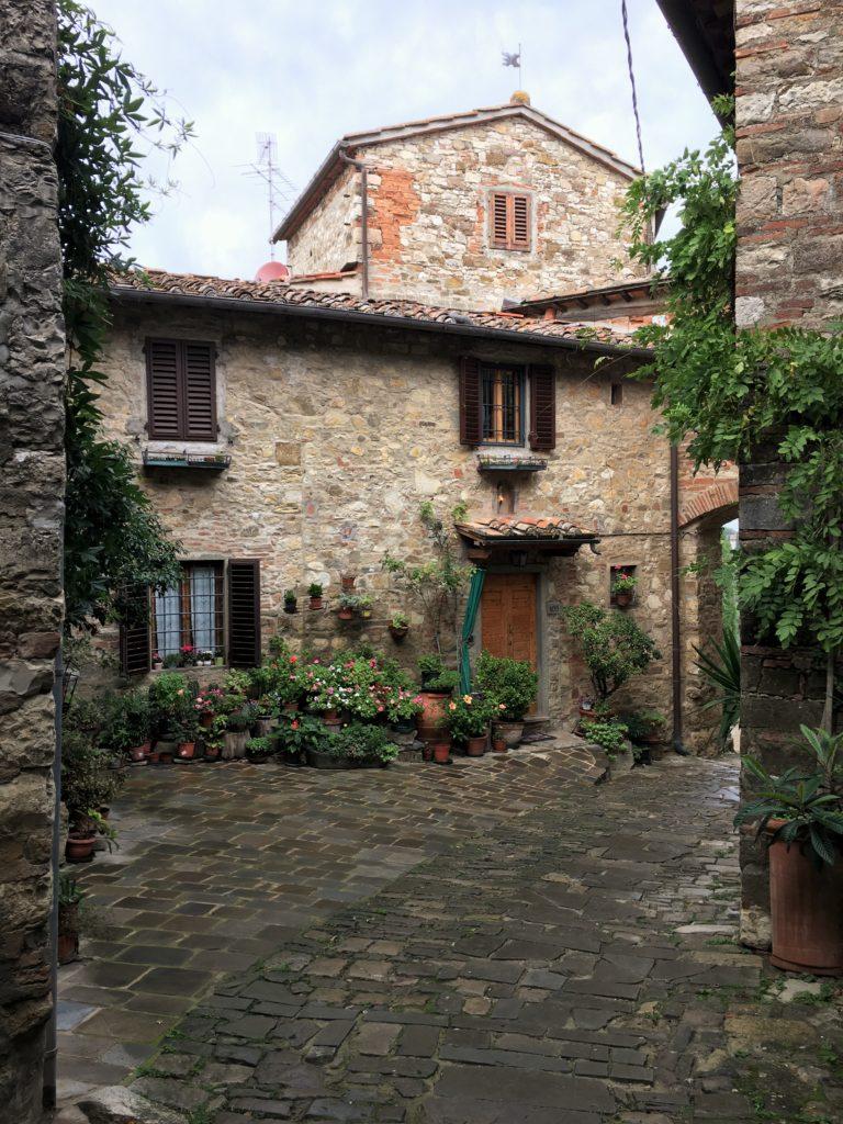 Schock in Greve di Chianti und eine Nacht vor der Festung 15