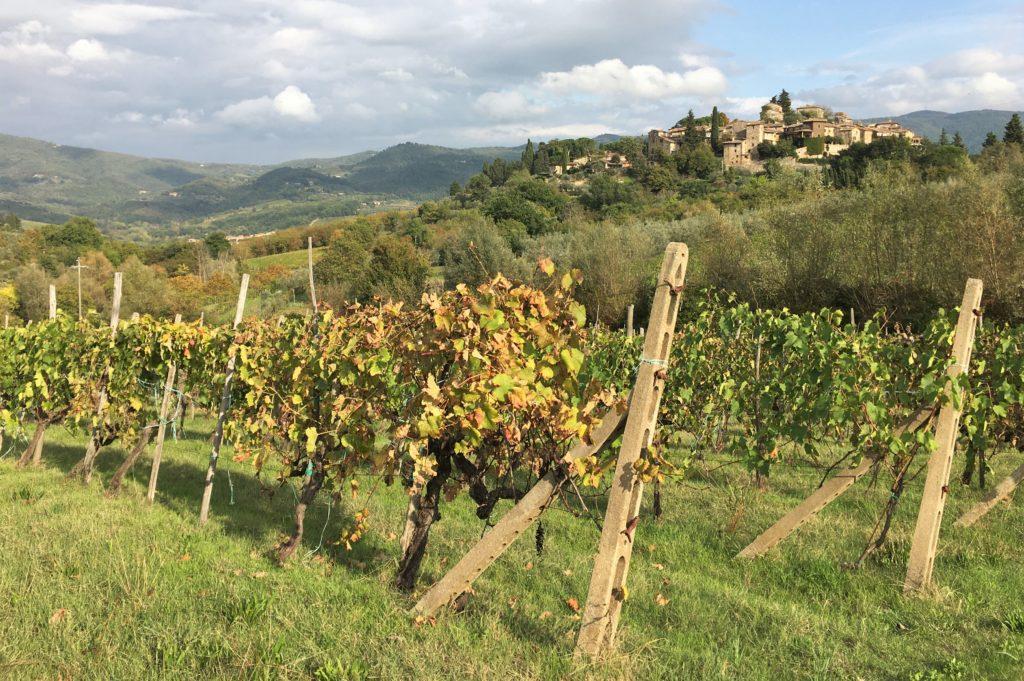 Schock in Greve di Chianti und eine Nacht vor der Festung 19