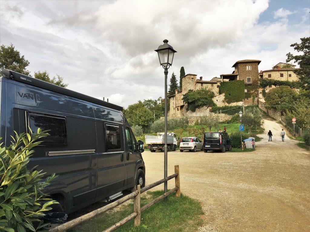 Schock in Greve di Chianti und eine Nacht vor der Festung 9