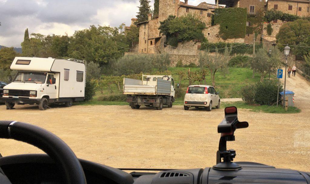 Schock in Greve di Chianti und eine Nacht vor der Festung 10