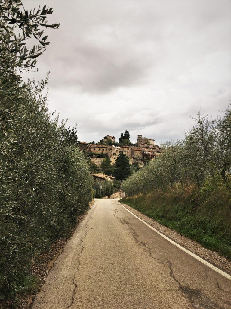 Schock in Greve di Chianti und eine Nacht vor der Festung 7
