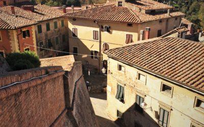 Nach Westen nach Lari und Sant'Ermo: Treffen mit Kristina