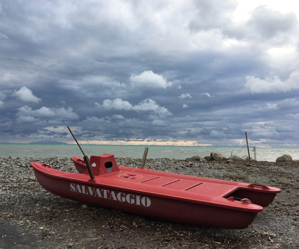 Zurück ans Meer und das Gasflaschen-Abenteuer : Von Vada nach Bibbona 10