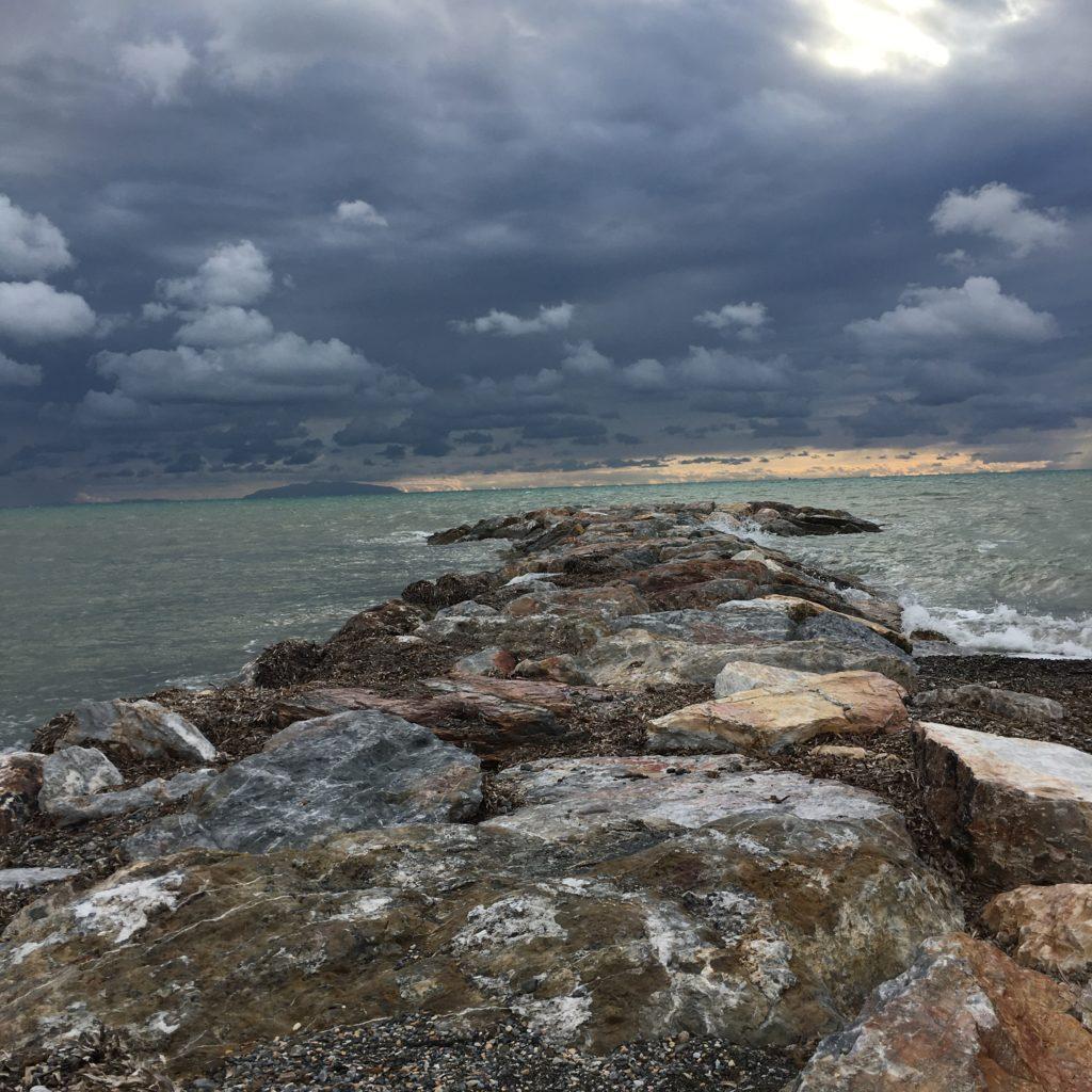 Zurück ans Meer und das Gasflaschen-Abenteuer : Von Vada nach Bibbona 4