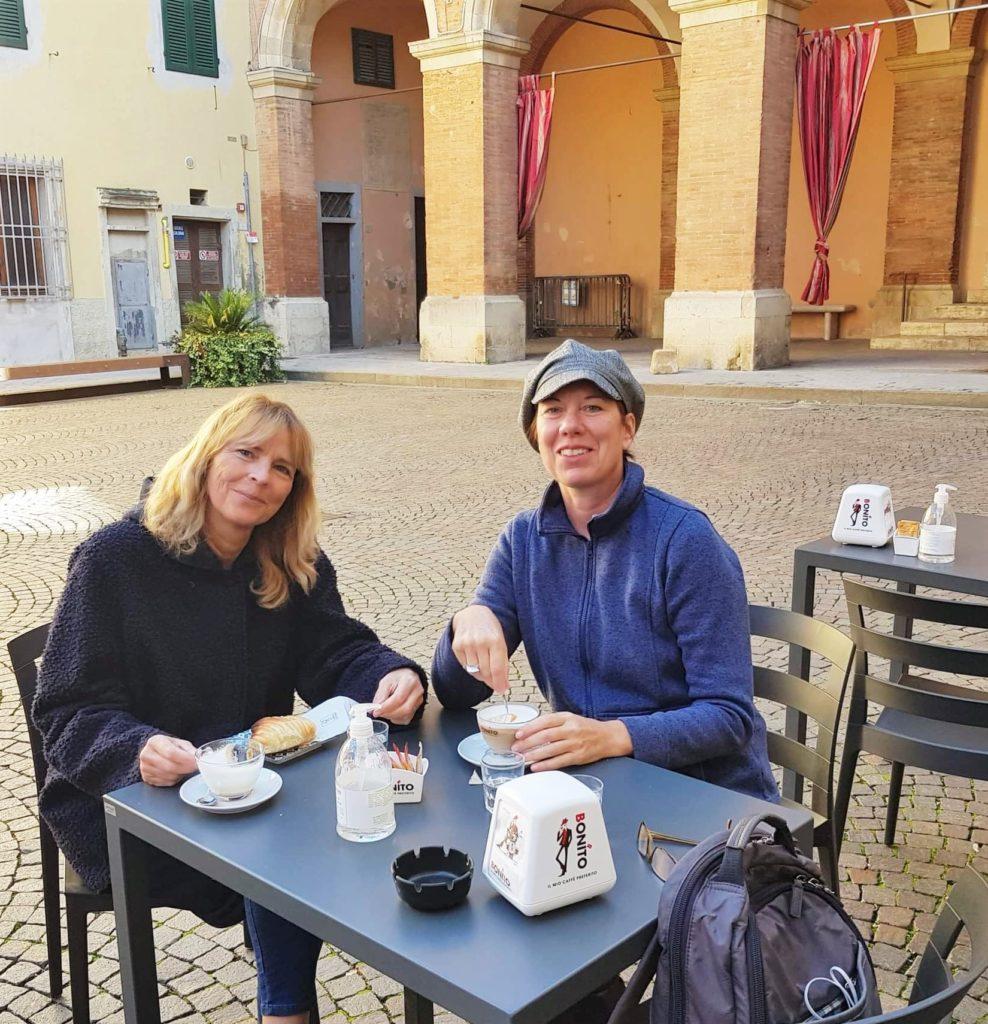 Nach Westen nach Lari und Sant'Ermo: Treffen mit Kristina 1