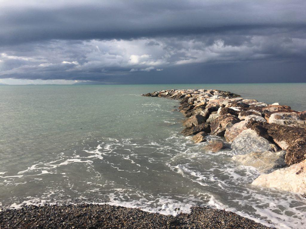 Zurück ans Meer und das Gasflaschen-Abenteuer : Von Vada nach Bibbona 7