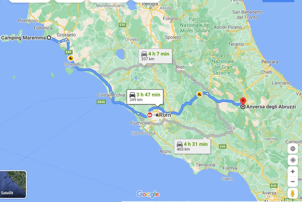 Warten auf das Fenster und Flucht in den Süden: Von der Maremma nach Apulien 7